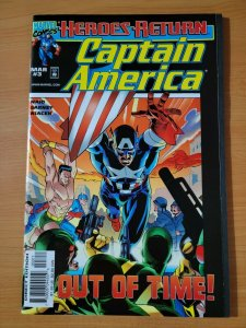Captain America #3 ~ NEAR MINT NM ~ 1998 MARVEL COMICS