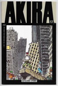 Akira #17 Katsuhiro Otomo (Epic/Marvel, 1990) FN/VF