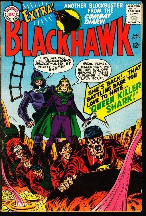 BLACKHAWK #216-DC FN