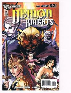 Demon Knights # 2 DC Comic Books Hi-Res Scans The New 52 Great Issue WOW!!!! S12