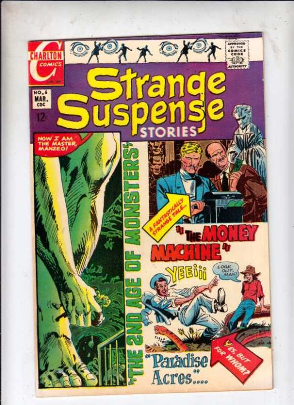 Strange Suspense Stories #6 (Mar-69) NM- High-Grade