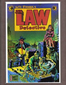 JOHN LAW DETECTIVE #1, VF/NM, Will Eisner, Eclipse 1983 more Indies in store