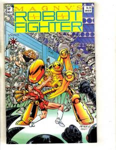 Magnus Robot Fighter # 4 NM Valiant Comic Book WITH CARDS / Coupon Pre-Unity FM3