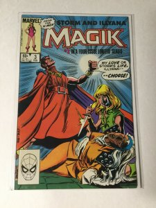 Magik 3 Vf/nm Very Fine/near Mint Marvel
