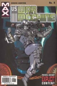 U.S. War Machine #8 VF/NM; Marvel | save on shipping - details inside