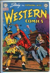 WESTERN #20 1951-DC-WYOMING KID-NIGHT HAWK-RODEO RICK-COWBOY MARSHAL-good/vg