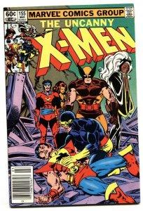 X-MEN #155 comic book NEWSSTAND 1981-1st app BROOD VF/NM