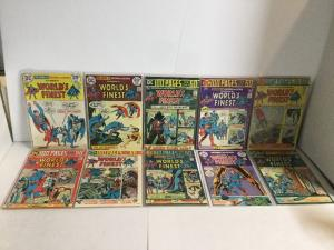 Worlds Finest 221-230 Lot Set Run Vf-Nm Very Fine-Near Mint