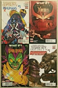 WHAT IF...?#1  VF/NM LOT (4 BOOKS) 2014 INFINITY GAUNTLET, DARK REIGN ETC.