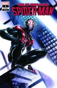 Miles Morales Spider-Man # 1 (2018) Clayton Crain Variant NM