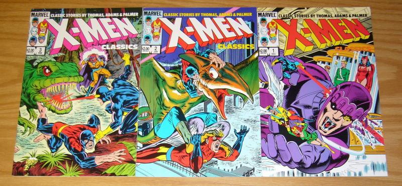 X-Men Classics #1-3 VF/NM complete series NEAL ADAMS 56 57 58 59 60 61 62 63
