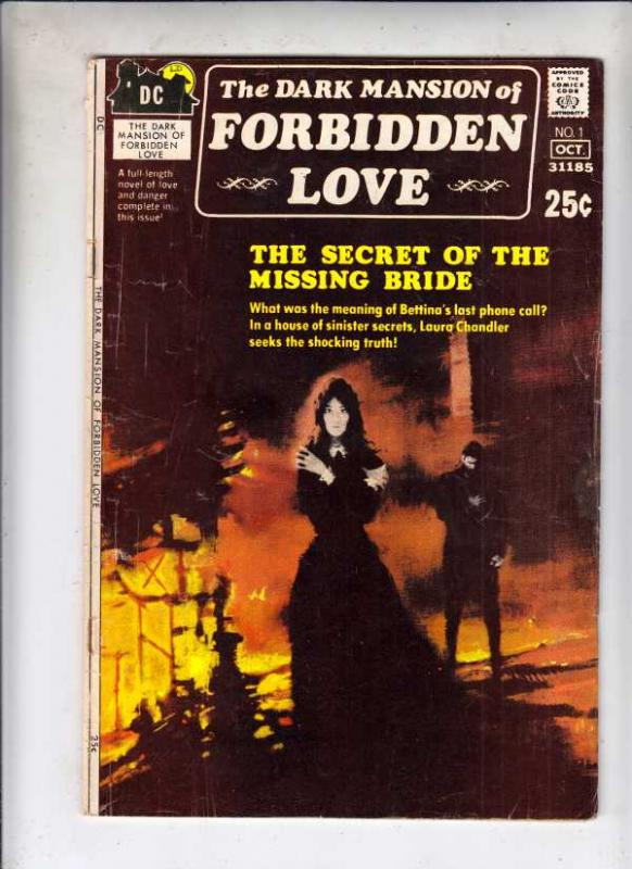 Dark Mansion Of Forbidden Love, The #1 (Oct-71) VG/FN Mid-Grade