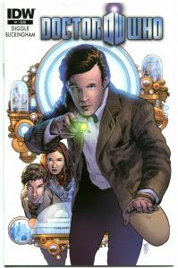 DOCTOR WHO #1, NM, Volume 3, 2012, IDW, Time Lord, Tardis, more DW in store