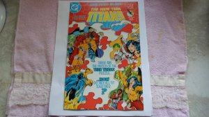 1985 DC COMICS THE NEW TEEN TITANS # 15