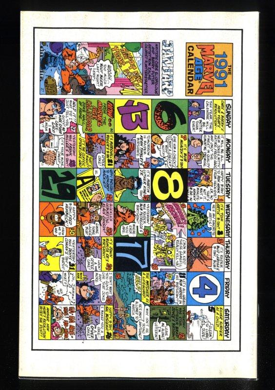 Marvel Age #97 VF 8.0 1st Darkhawk!