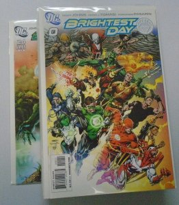Brightest Day lot from:#0-24 all different books 8.0 VF (2010)
