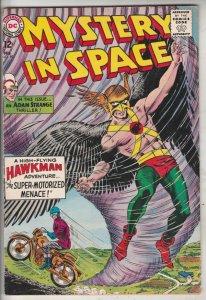 Mystery in Space #89 (Feb-64) FN/VF High-Grade Adam Strange, Allana, Hawkman