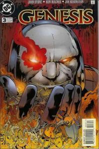 DC GENESIS (1997 Series) #3 VF+