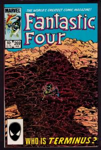 Fantastic Four #269 (Aug 1984, Marvel) 9.2 NM-