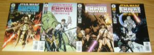 Star Wars: Infinities - Empire Strikes Back #1-4 VF/NM complete series WHAT IF