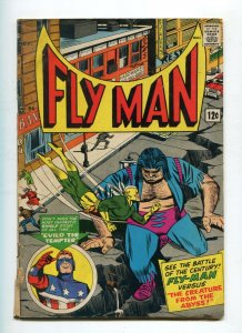 Fly Man 34 GD/VG   Shield begins