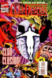 Clandestine (1994 series) #12, VF+ (Stock photo)