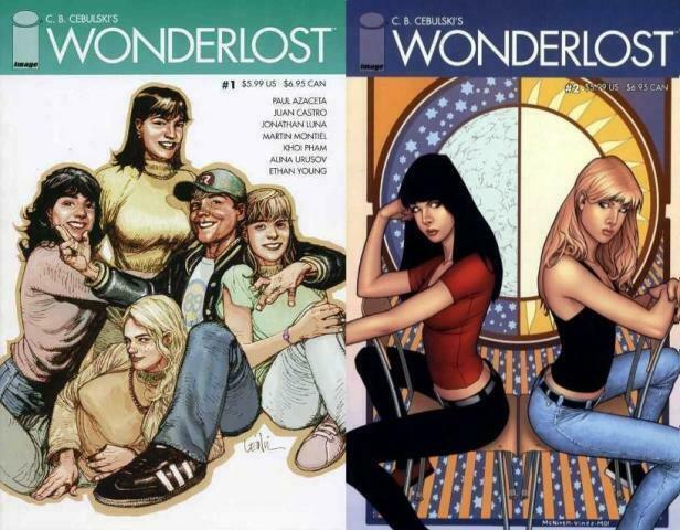 WONDERLOST (2007 IMAGE) 1-2  C.B. Cebulski COMICS BOOK