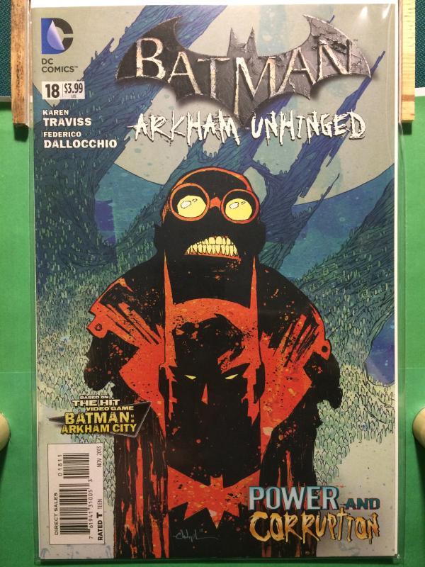 Batman Arkham Unhinged #18 The New 52