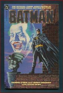 Batman Movie Adaptation /  9.8 NM-MT  /  Prestige Format 1989
