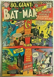 BATMAN#193 FN+ 1967 DC SILVER AGE COMICS