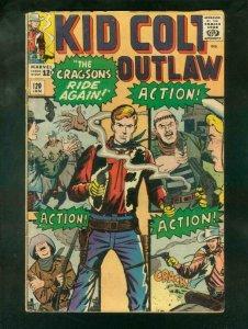 KID COLT OUTLAW #120 1965 VG