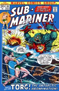 Sub-Mariner #55 (ungraded) stock photo