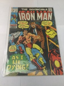 Iron Man 37 Gd Good 2.0 Water Damage Marvel Comics