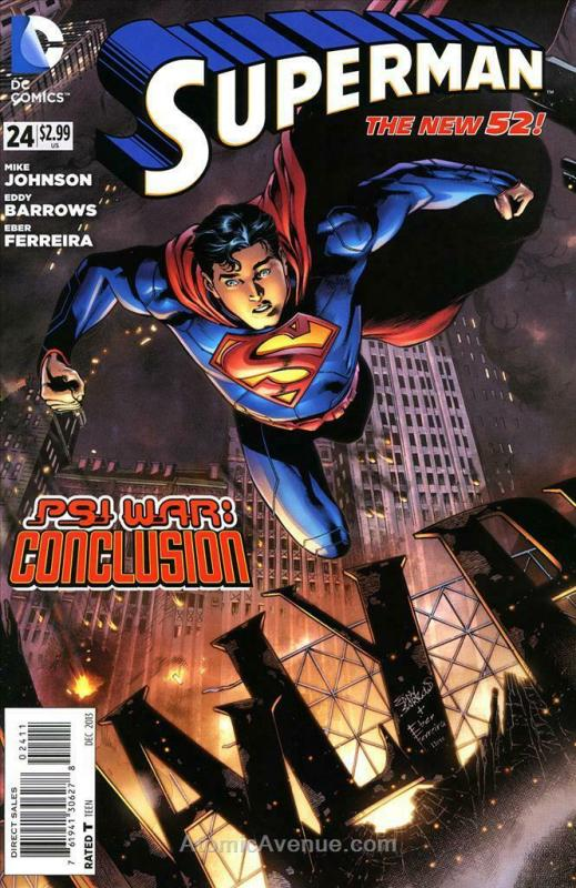 Superman (3rd Series) #24 VF/NM; DC | save on shipping - details inside