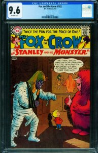 The Fox and the Crow #102 CGC 9.6 1967 HORROR ISSUE 2039575012