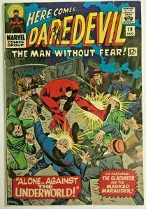 DAREDEVIL#19 VG 1966 MARVEL SILVER AGE COMICS