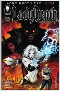 Lady Death Merciless Onslaught #1 Standard Edition (Coffin, 2017) NM