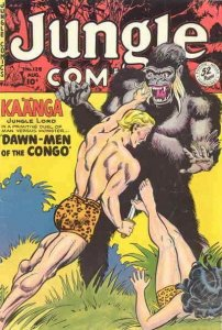 Jungle Comics #128 GD; Fiction House   low grade comic - save on shipping - deta