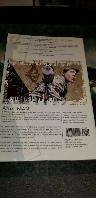 Y The Last Man Book 1