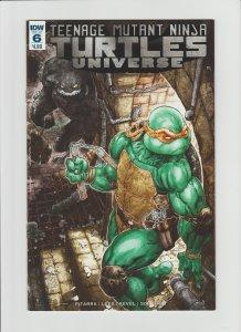 TMNT: Universe #6 NM 9.2 IDW Comic Cover by Freddie Williams II