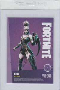 Fortnite Dusk 208 Epic Outfit Panini 2019 trading card series 1