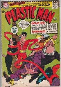 Plastic Man #1 (Dec-66) FN/VF Mid-High-Grade Plastic Man