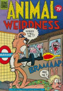 Animal Weirdness #1 VF/NM; Cozmic | save on shipping - details inside