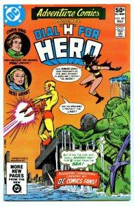 Adventure Comics 481 May 1981 NM- (9.2)