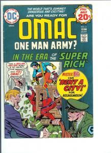 Omac, #2, - Bronze Age - Vol. 1, Nov/Dec., 1974 (VF)