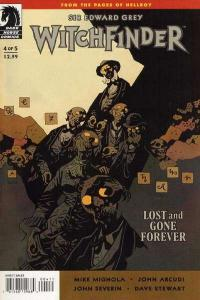Sir Edward Grey: Witchfinder - Lost and Gone Forever #4, VF+ (Stock photo)