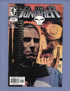 Punisher #9 NM- Front/Back Cover Scans Marvel Knights 2000