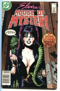 ELVIRA'S HOUSE OF MYSTERY #1 Newsstand 1986-First issue comic book