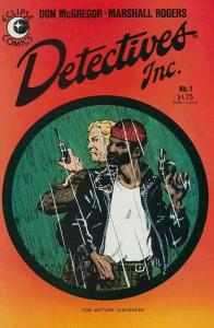 Detectives Inc. (Micro-Series) #1 VF/NM; Eclipse | save on shipping - details in