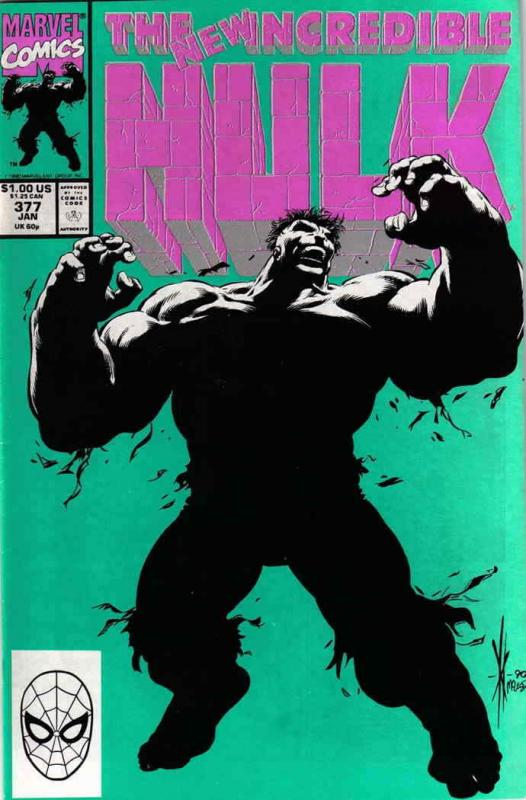 Incredible Hulk, The #377 VF/NM; Marvel | save on shipping - details inside